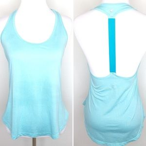 Old Navy Teal T Back Active Tank